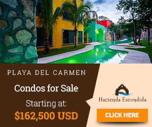 CONDOS FOR SALE AT PLAYA DEL CARMEN