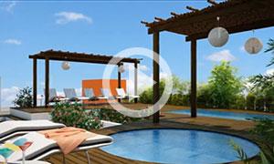 Papaya Plus Condos: Update Construction Top View