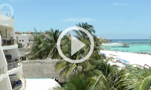 El Faro Beach - Playa del Carmen's Famous Downtown Lighthouse