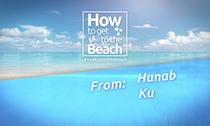 How To Get To the Beach From: HunabKu El Cielo - www.TopMexicoRealEsta