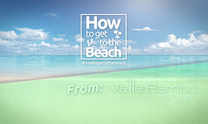 HOW TO GET TO THE BEACH From VALLE BAMBÚ http://www.topmexicorealesta