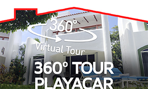 360° Video - Comfortable 3 bedroom residence in Playacar