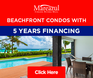 Beachfront Condos in Playa del Carmen, financing available