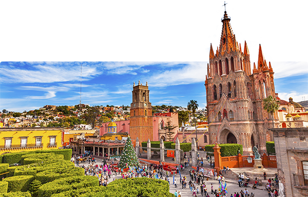 Retire in San Miguel de Allende, Mexico
