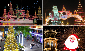 How is Christmas celebrated across Mexico