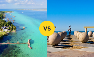 Bacalar vs Rocky Point lifestyle