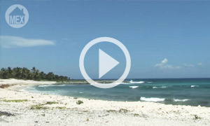 Rugged Beauty, Quiet Beach  Sirenis Beach in the Riviera Maya