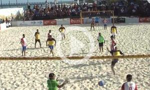 Playa del Carmen Beach Soccer at Mamitas Beach