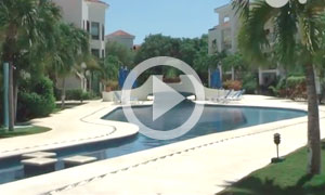 Condo hotel near the beach - video tour - Paseo del Sol en Playacar -