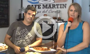 Livin' Playa - Lesley & Jody - Cafe Martin Playa del Carmen