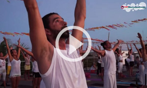 108 sun salutations yoga in Playa del Carmen - Living Playa del Carmen