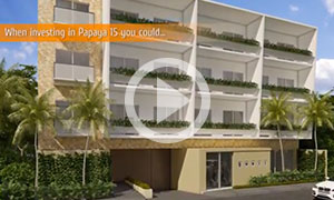 A Walk Everywhere Lifestyle at Its Best - Papaya Condos in Playa del C
