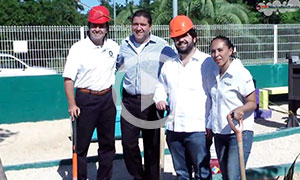 Tree Donation by TOP Mexico Real Estate to CEBIAM Doggy Park