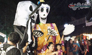Halloween & Day of the Dead in Playa del Carmen Mexico 2014 - TOPMexic