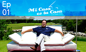 Golf Living in Paradise - Mi Casa es tu Casa with Thomas Lloyd (S1E1)
