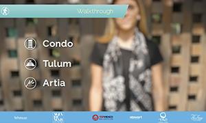 Walk Thru Artia Condos in Tulum - TOPMexicoRealEstate.com