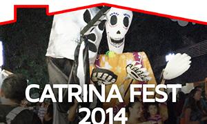 Catrina Fest 2014 Playa del Carmen, Quintana Roo.