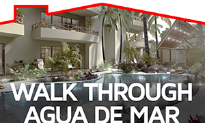 Walkthrough Agua de Mar TULUM Aldea Zama - TOP Mexico Real Estate