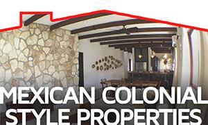 Mexican Colonial Style Properties - Hacienda del Rio - TOPMexicoRealEs