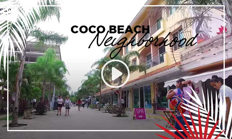 Coco Beach Neighborhood - Playa del Carmen Condos for Sale - TOPMexico