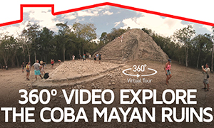 360º Video Explore the Coba Mayan Ruins