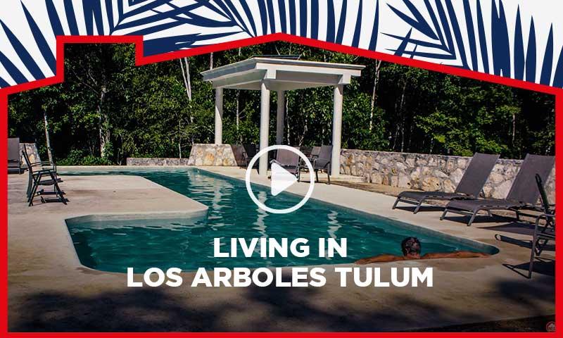 Living in Los Arboles Tulum