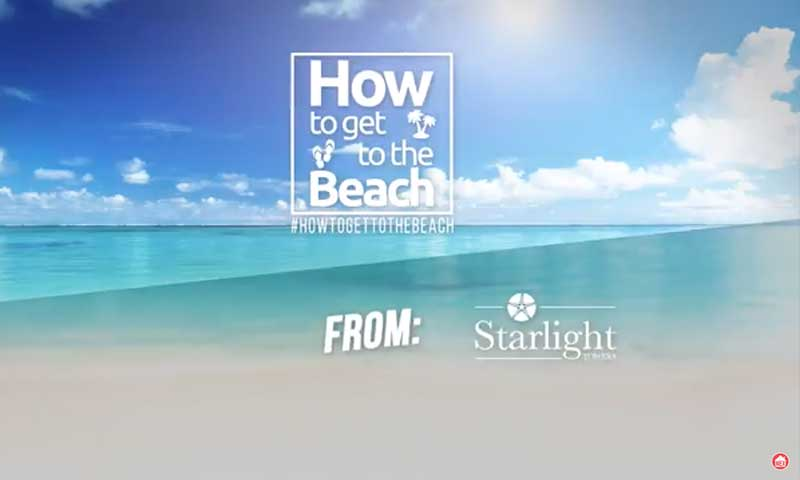 How to get to the beach from Starlight