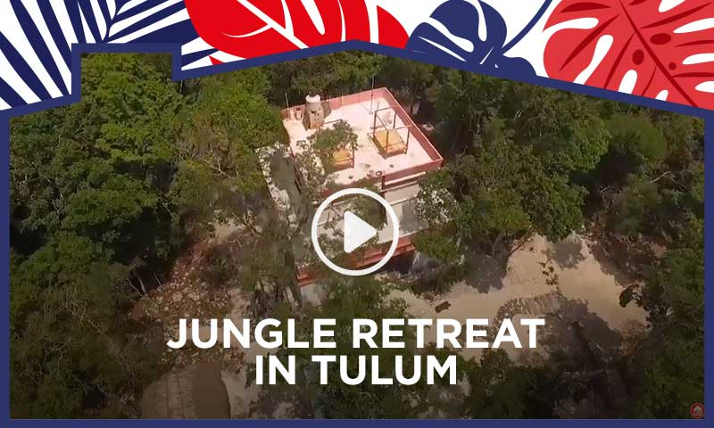 Jungle retreat in Tulum