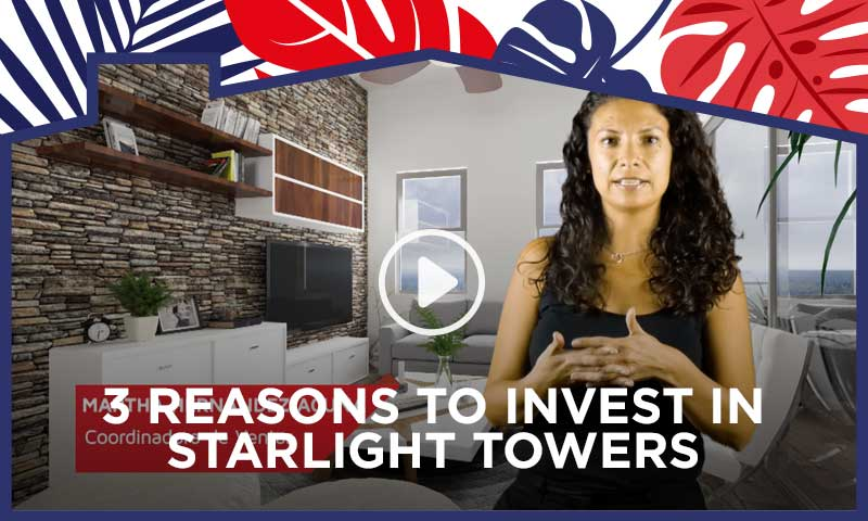 3 Reasons to Invest in Starlight Towers Playa del Carmen