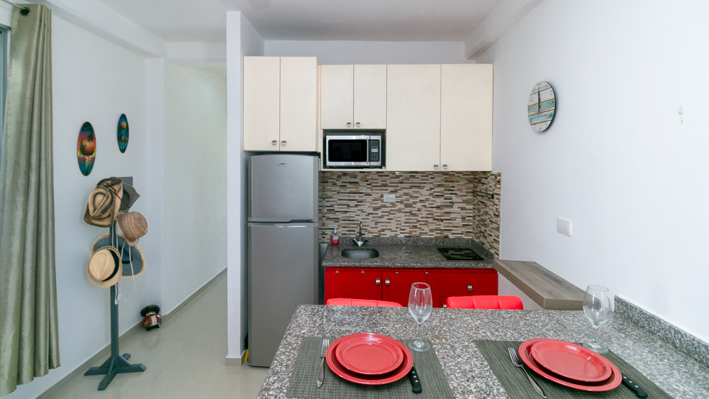 Beautiful 1 Bedroom Condo Near 5th Avenue - Playa Del Carmen MLS 20966