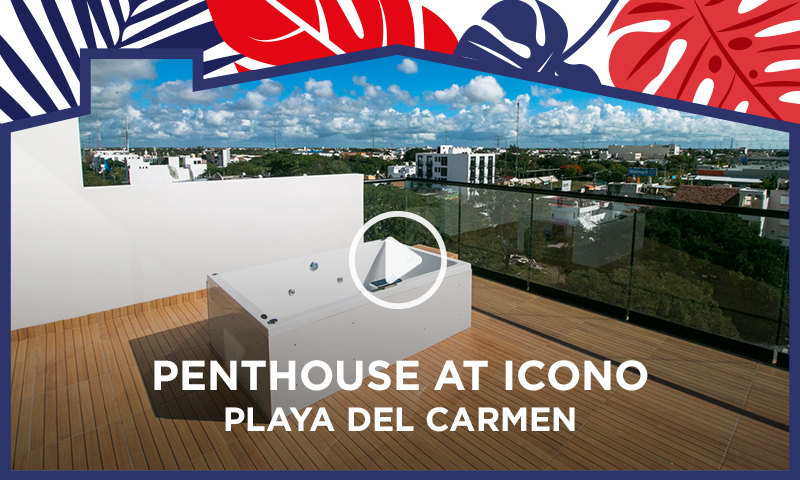 3 Bedrooms Penthouse At Icono Playa - Condo