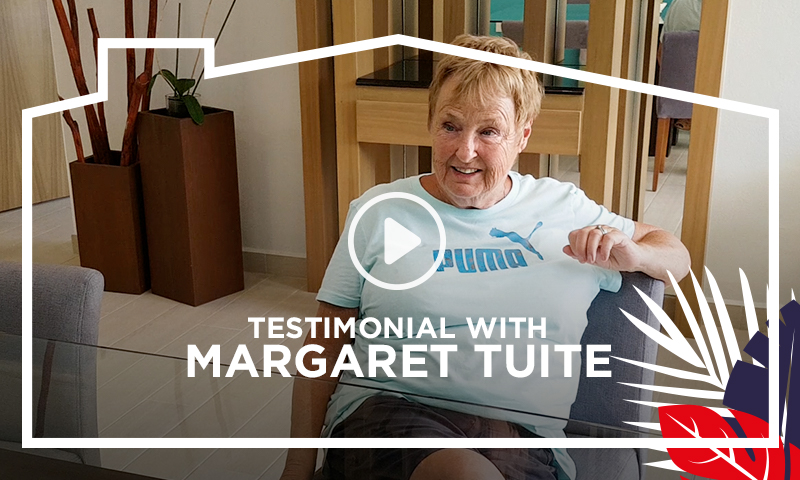 Testimonial With Margaret Tuite