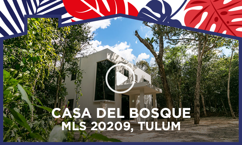 3 Bedroom Home In Tulum, In Gated Jungle Community - Home