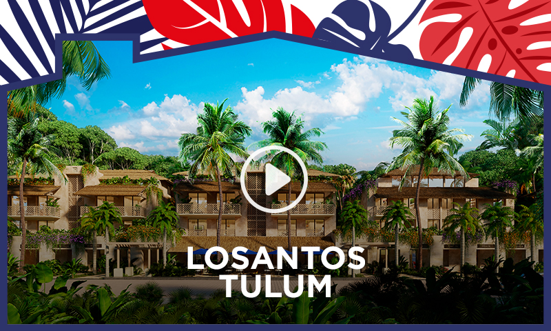 Losantos Tulum – Have an upscale active lifestyle